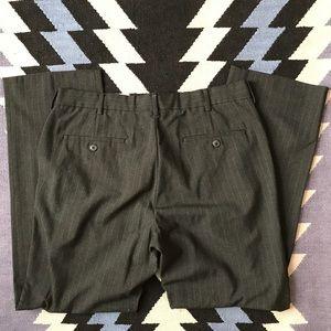 Perry Ellis Pants - Perry Ellis - Black/charcoal pinstripe dress pants
